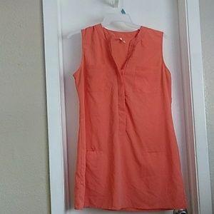 Orange shirt w/ pockets